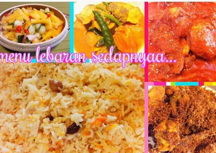 Menu Lebaran (1.Nasi Minyak)