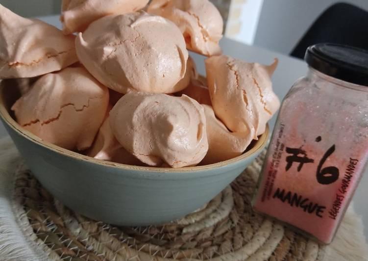 Comment Cuisiner Meringues à la mangue