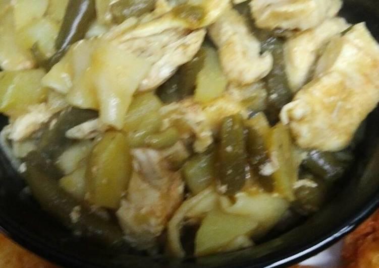 Autumn Chicken Broken Noodles