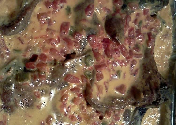 Fiesta Baked Pork Chops