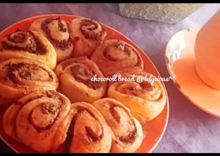 Chocoroll Bread (eggless) #berani baking