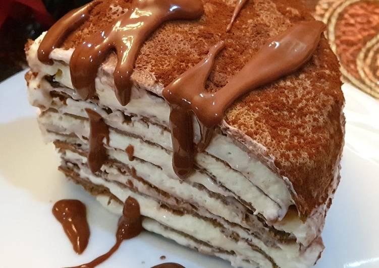 Resep Millecrepes tiramisu low carb #keto#debm, Bikin Ngiler