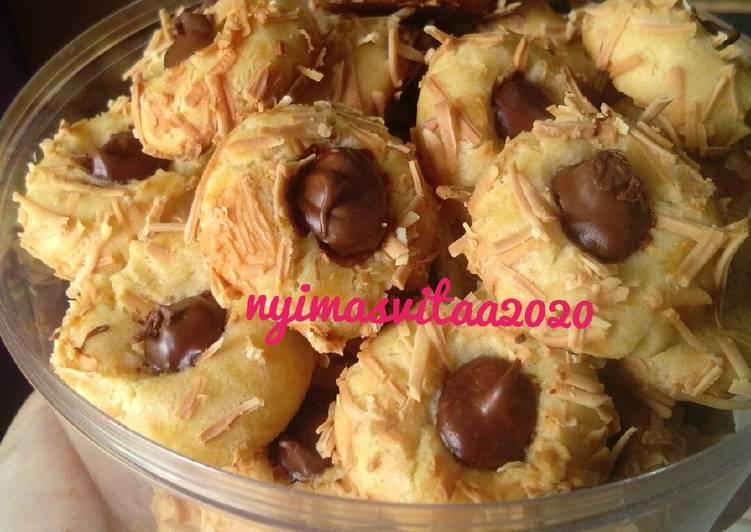 Langkah Mudah untuk Membuat Nutella Thumprint Cookies Anti Gagal