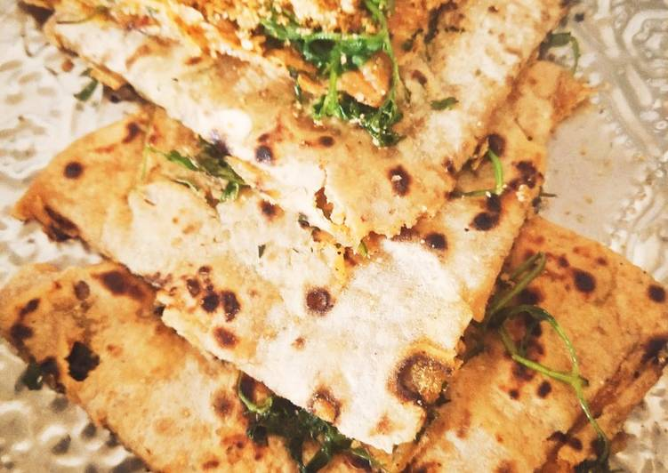 Foods That Make Your Mood Better Peanut Paratha