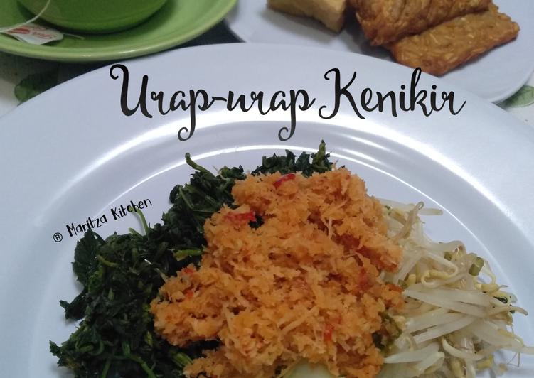 Makanan Urap Urap Kenikir Jadi Sempurna Best Recipes