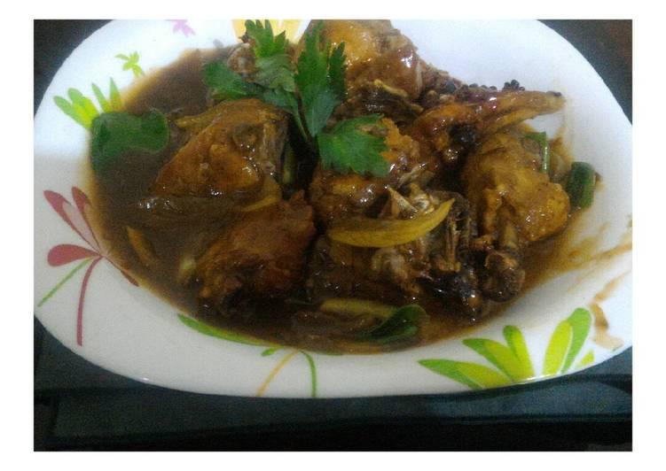 Resep Ayam Goreng Blueband Non Msg Oleh Mamah Hasna Cookpad
