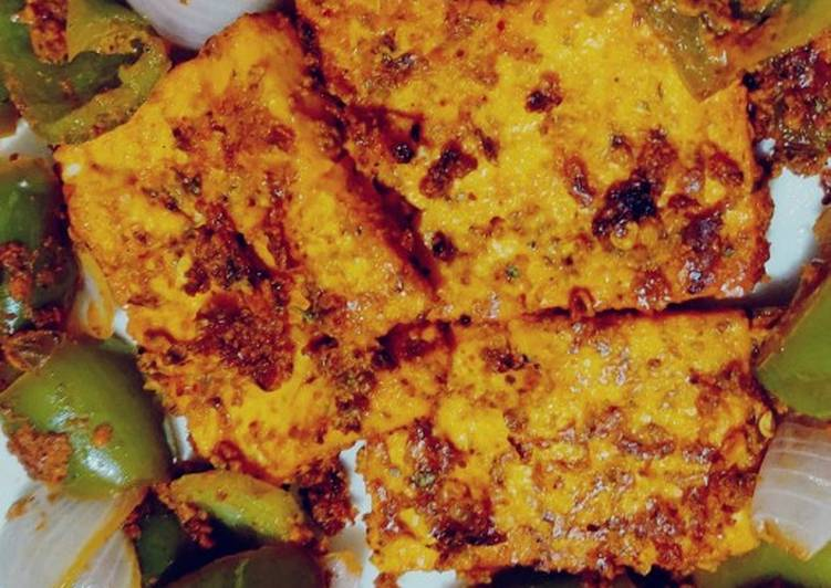 Paneer (cottage cheese) Tawa - Diet Special - Healthy