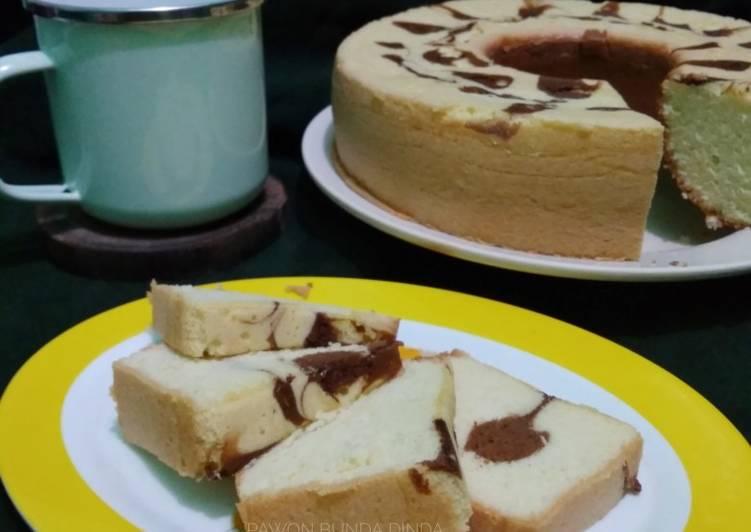 Bolu panggang (baking pan) metode all in one