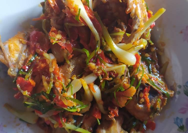Resep Ayam sambal Lokio, Enak Banget