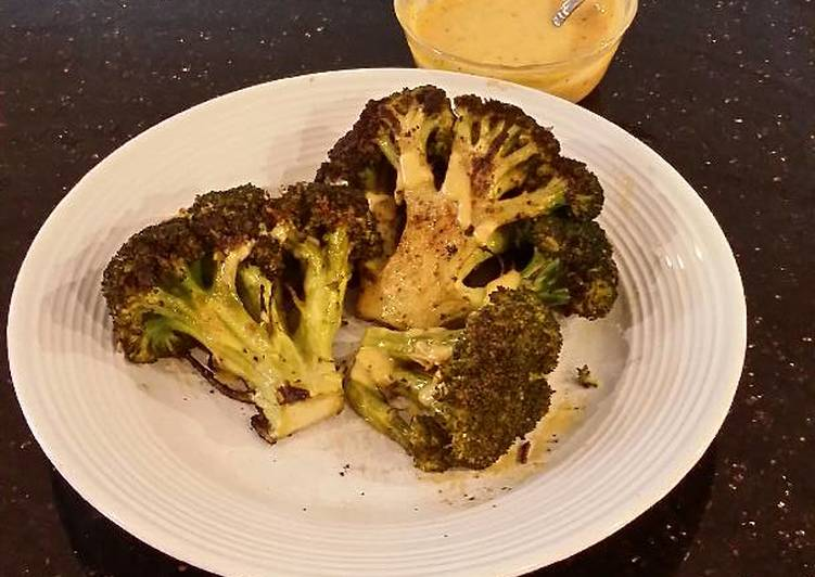 Grilled Fresh Broccoli