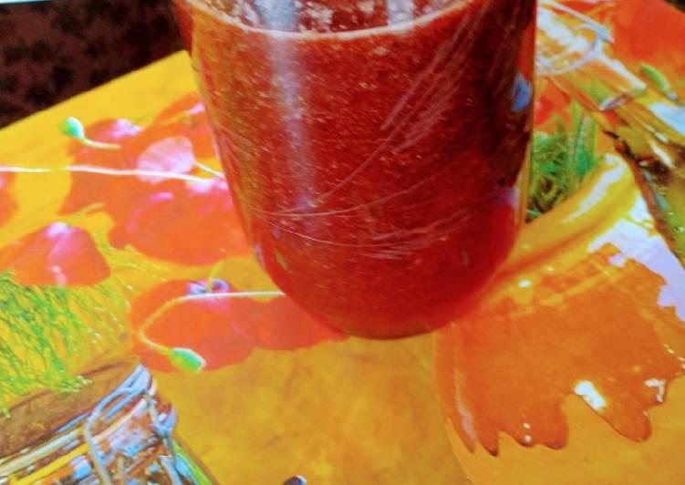 Mix fruits juice