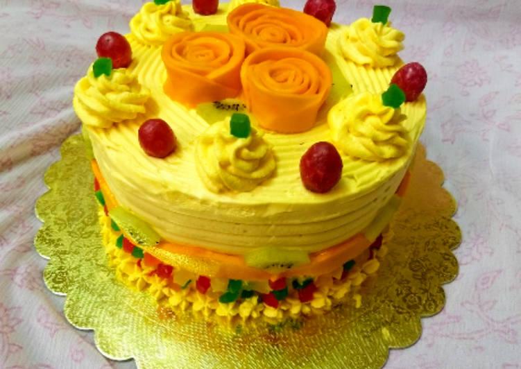 Mango Mastani Cake