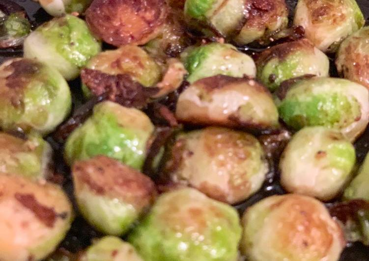 Step-by-Step Guide to Prepare Super Quick Homemade Glorious Brussel Sprouts