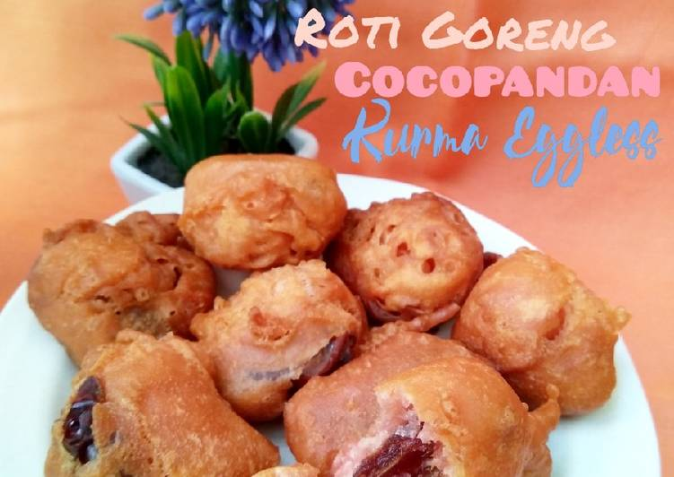 Roti Goreng Cocopandan Kurma Eggless