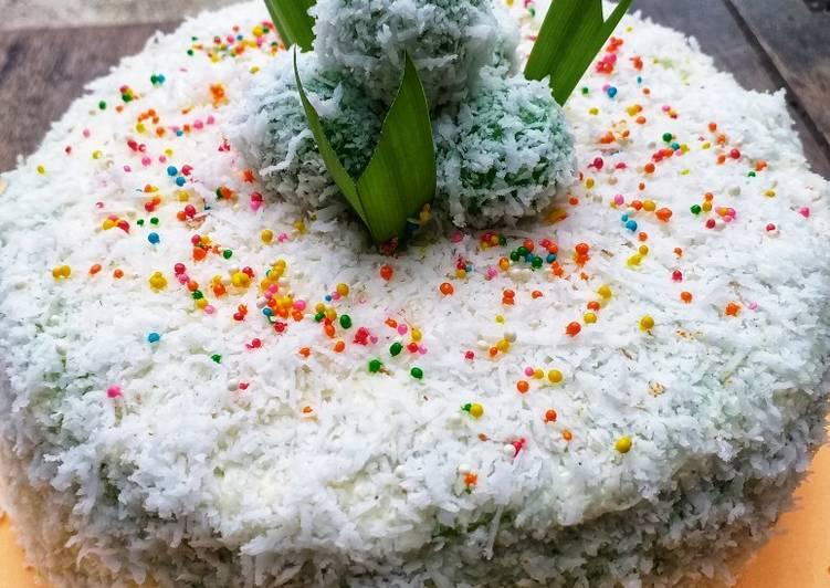 #208. Klepon Cake