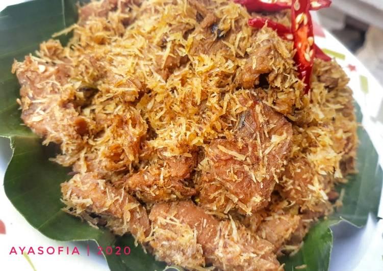 Serundeng Daging / Dendeng Ragi Manis Gurih