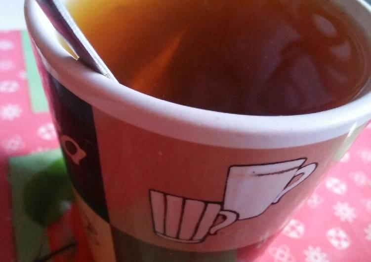 Simple Way to Make Quick Spicy tumeric tea