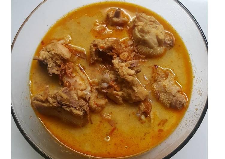 Resep Becek Ayam Kampung Oleh Yulie Wjy Cookpad