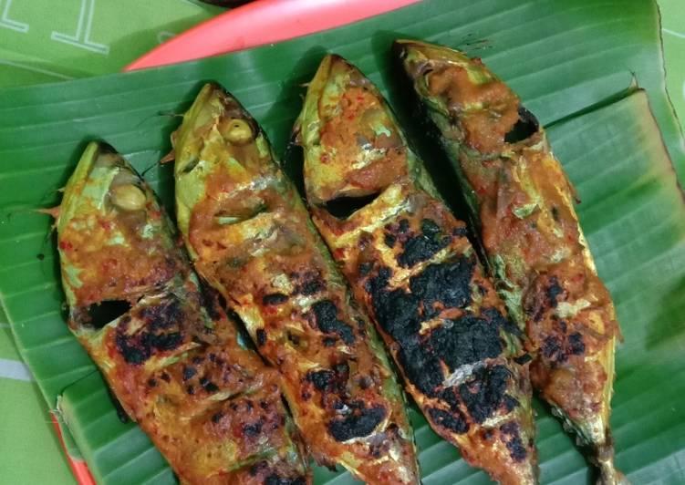 Ikan Kembung Bakar ala RM Padang