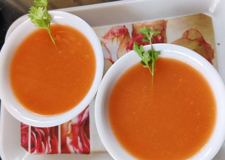 How to Make Super Quick Homemade Bottle gourd tomato soup