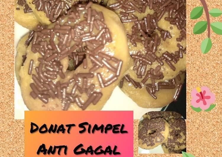 Donat Simpel Anti Gagal