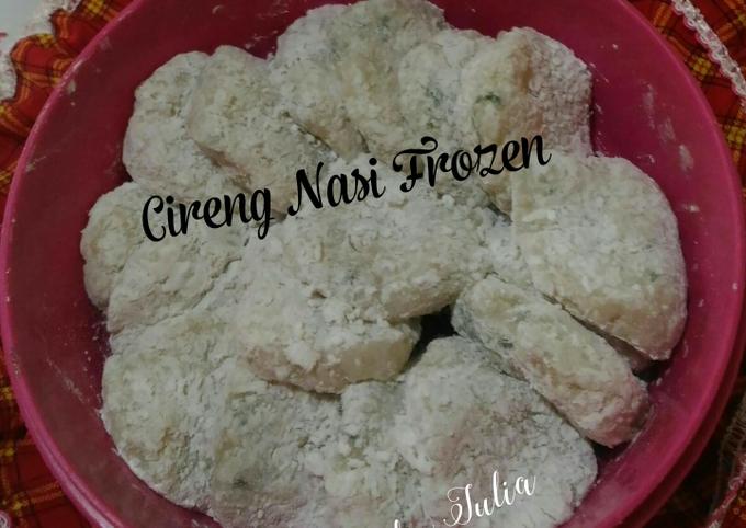 Cireng Nasi (bisa frozen)