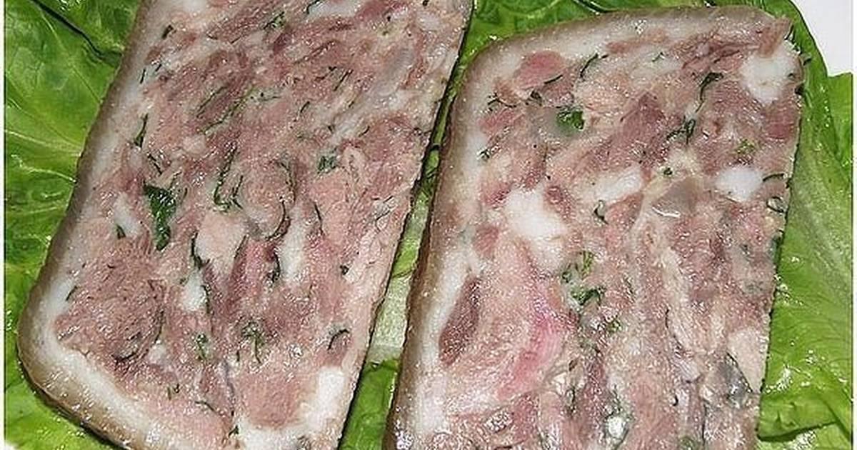 верхней легкой сальтисон из свиных субпродуктов с фото вечерние