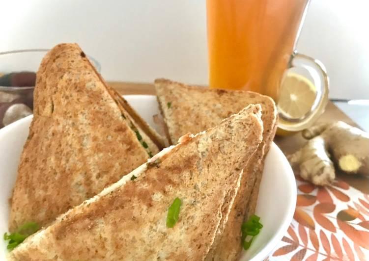 Ekspresowe tosty czosnkowe główne zdjęcie przepisu