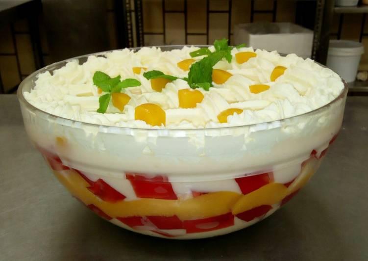 Recipe: Delicious Trifle