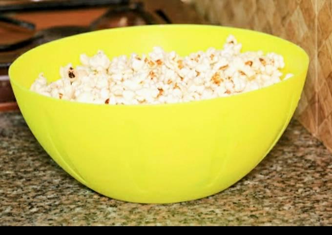 Recipe: Tasty Homemade popcorn #one recipe one tree
