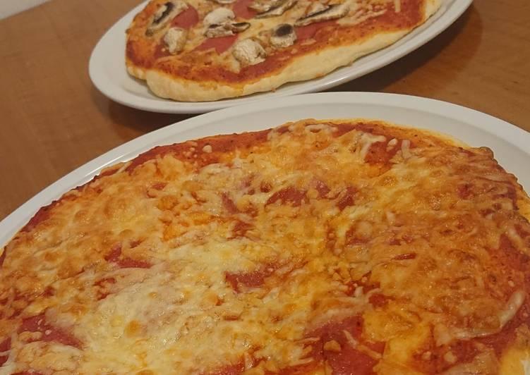 Selbstgemachter Pizzateig 😍