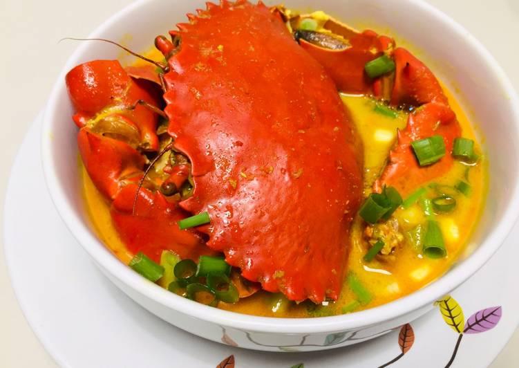 Kepiting Kuah Kari