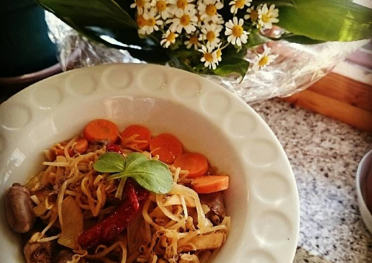 Step-by-Step Guide to Make Ultimate Chicken Hearts Stir Fry with Bean Sprouts and Carrots