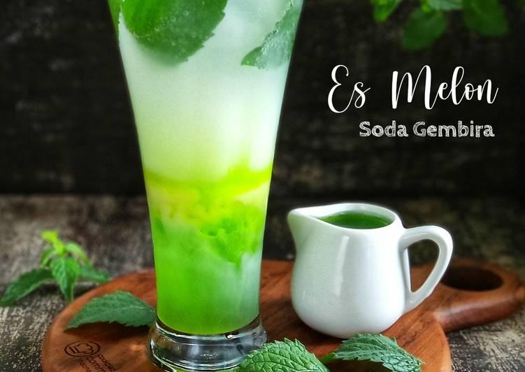 Es Melon Soda Gembira