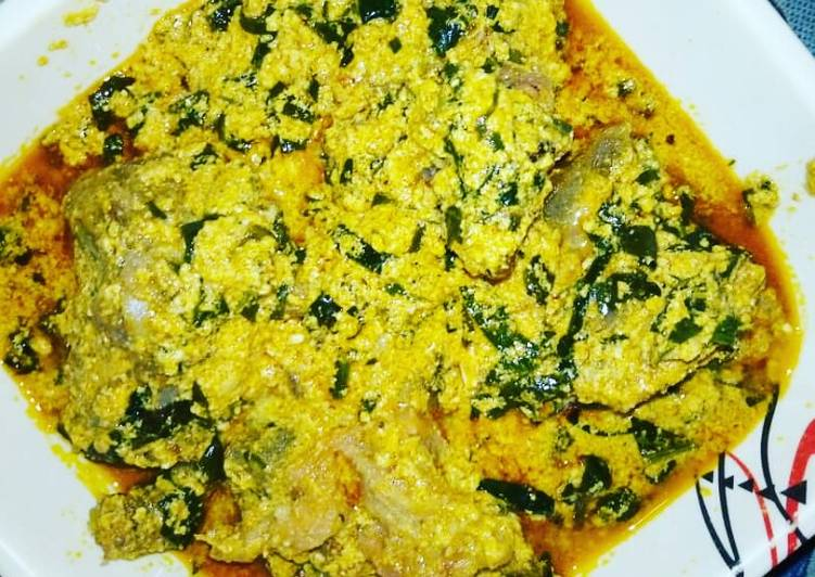 Hearty Comfort Dinner Ideas Quick Egusi with goat meat