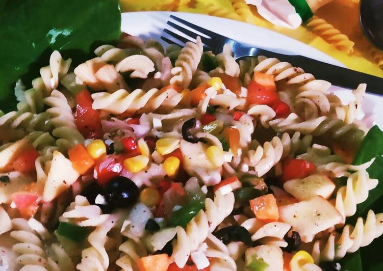Cheese Fusion Healthy pasta salad