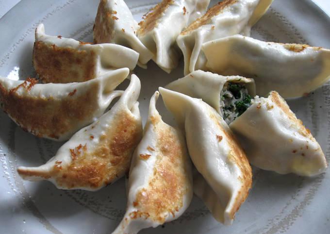 Kale & Chicken Gyoza