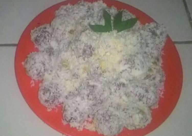 Resep Kue klepon ubi ungu