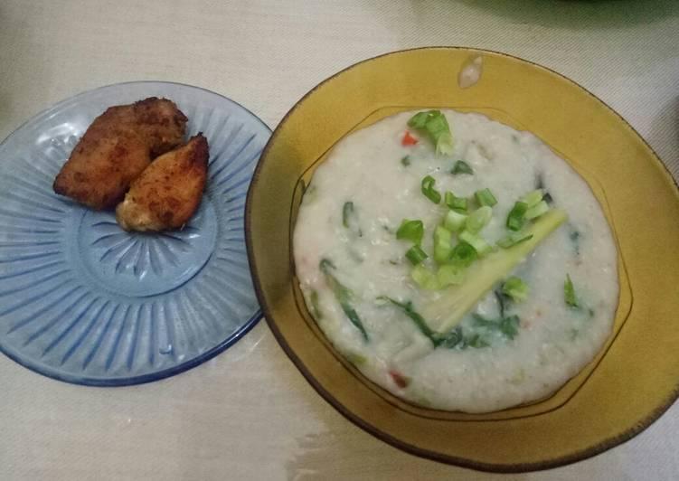 Bubur Oatmeal (Bubur Diet)