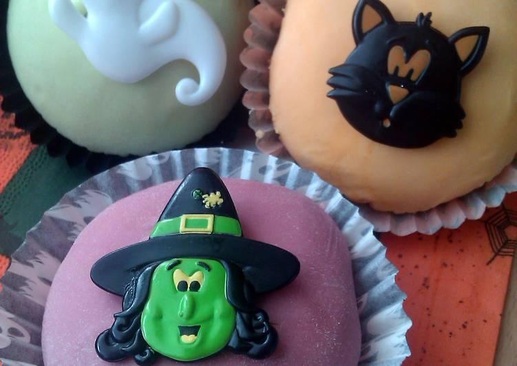 Recipe of Homemade Vickys Cinnamon Spiced Cupcakes, GF DF EF SF NF