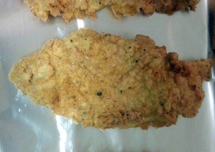 Recipe: Perfect Damians gluten free dairy free fried chicken
