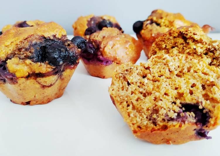 Recette De Muffins au son d'avoine et myrtilles - ig bas