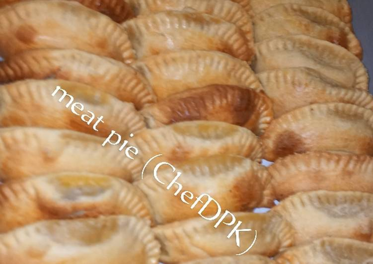 Step-by-Step Guide to Make Homemade Crunchy meat pie
