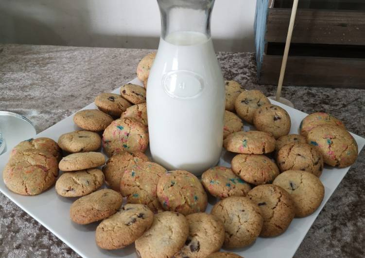 Steps to Make Quick Choc chip cookies