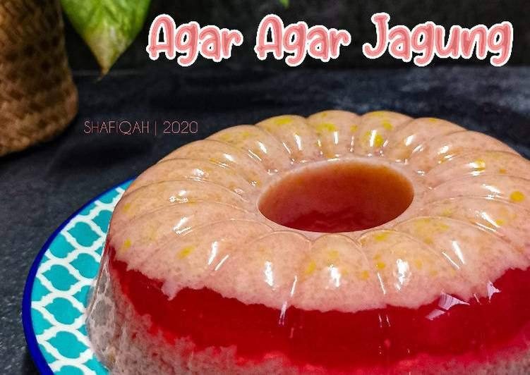 Agar - agar jagung - resepipouler.com