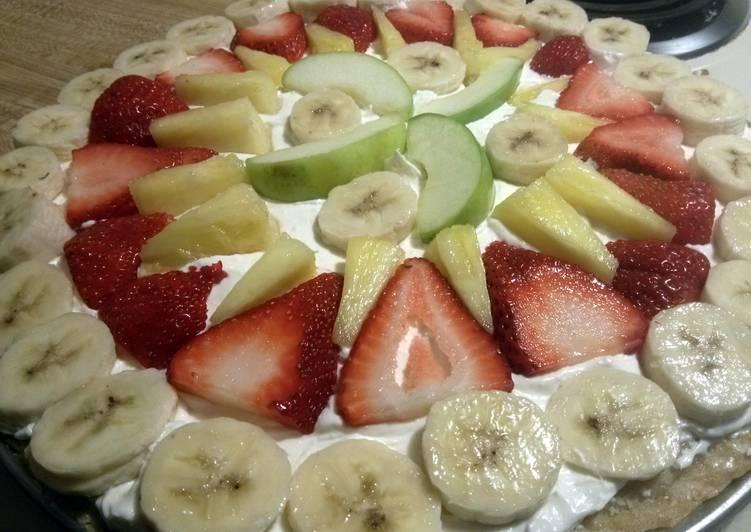 Steps to Make Super Quick Homemade fruit pizza