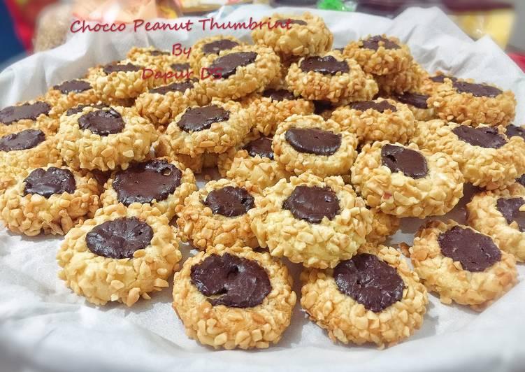 Chocco Peanut Thumbprint
