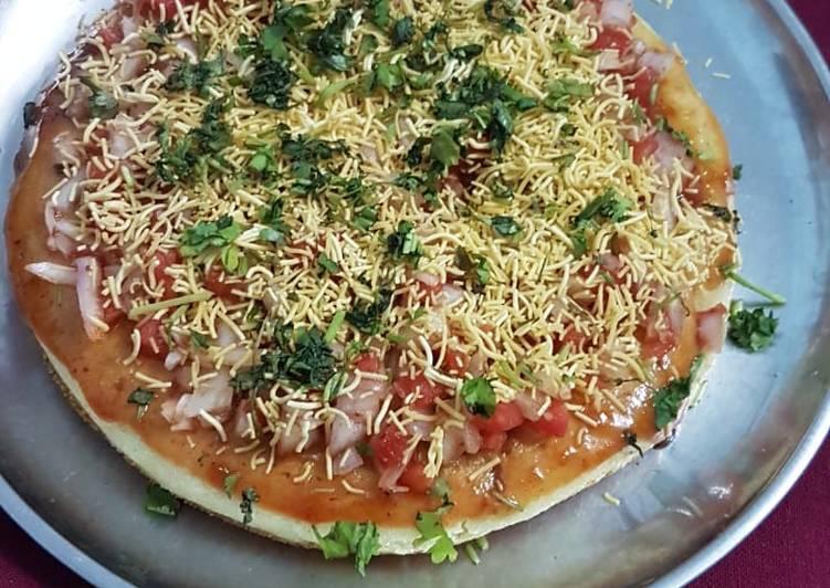 Instant Rava Pizza