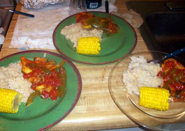 hmark38 Chicken with Mediteranean Vegetables
