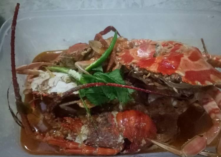 Resep Kepiting Saos Tiram Pedas Asam Manis oleh Laras Dwi Wah. - Cookpad